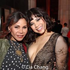 Daphne Rubin-Vega and Eva Noblezada. Photo by Lia Chang