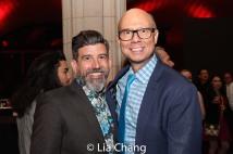David Neumann and Richie Ridge. Photo by Lia Chang