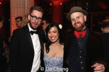 Cody Owen Stine, Cynthia Meng and Liam Robinson. Photo by Lia Chang