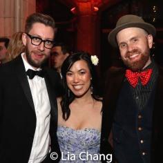 Cody Owen Stine, Cynthia Meng and Liam Robinson. Photo by Lia Chang
