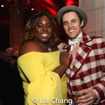 Alex Newell and Reeve Carney. Photo by Lia Chang