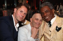 Dustin Strong, Taylor Mac, André De Shields. Photo by Lia Chang