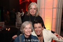 Lisa Peterson and Rachel Hauck with her mother. Photo by Lia Chang