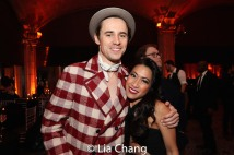 Reeve Carney and Kay Trinidad Karns. Photo by Lia Chang