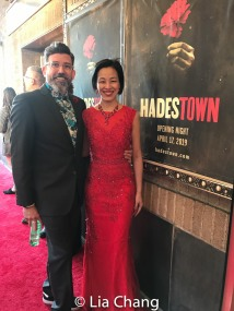 David Neumann and Lia Chang. Photo by Garth Kravits