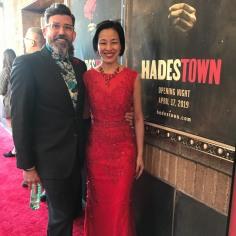David Neumann and Lia Chang. Photo by Garth Kravits