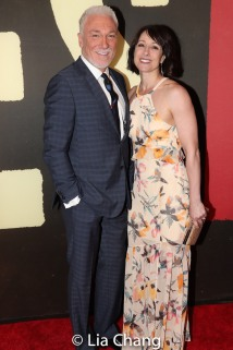 Patrick Page and Paige Davis. Photo by Lia Chang