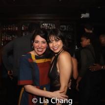 HADESTOWN director Rachel Chavkin and Eva Noblezada. Photo by Lia Chang