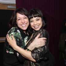 Paige Davis and Eva Noblezada. Photo by Lia Chang