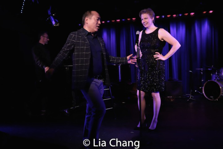 Alan Muraoka, Jennifer Barnhart. Photo by Lia Chang