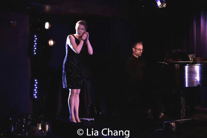 Jennifer Barnhart, Gary Adler. Photo by Lia Chang