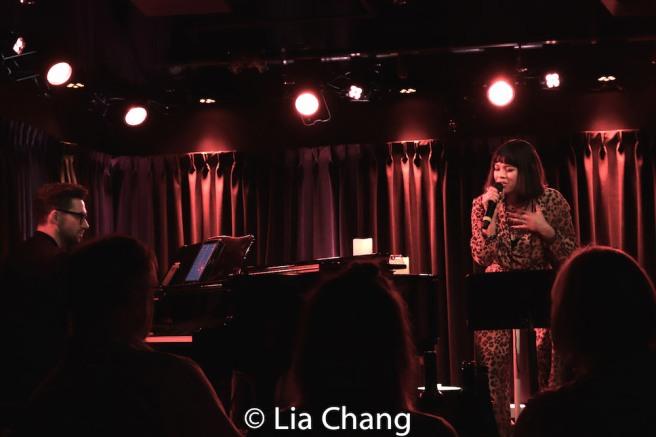 Rodney Bush and Eva Noblezada. Photo by Lia Chang