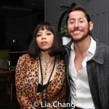 Eva Noblezada and Mike Baerga. Photo by Lia Chang