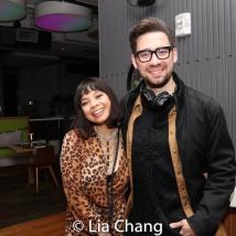 Eva Noblezada with music director Rodney Bush. Photo by Lia Chang