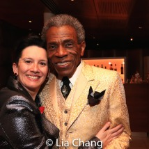Jessica Paz and André De Shields. Photo by Lia Chang