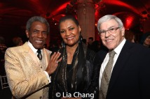 André De Shields, Willette Klausner and Manuel Klausner. Photo by Lia Chang