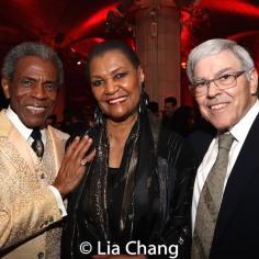 André De Shields, Willette Klausner and Manuel Klausner. Photo by Lia Chang