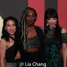 Kay Trinidad, Jewelle Blackman and Yvette Gonzalez-Nacer. Photo by Lia Chang