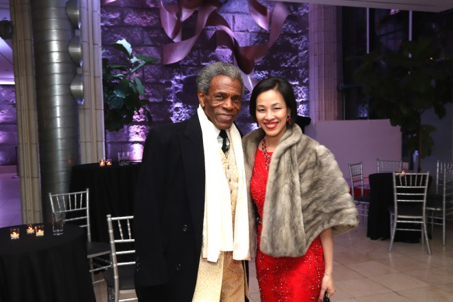 André De Shields and Lia Chang.. Photo by Garth Kravits