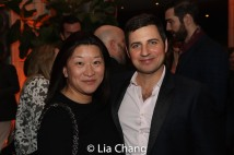 Lily Fan and Anthony Paul Arnold. Photo by Lia Chang