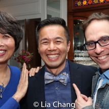 Jeanne Sakata, Steven Eng and Garth Kravits. Photo by Lia Chang