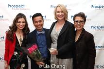 Kimbirdlee Fadner, Steven Eng, Kristi Hutchinson-Towey and Nina Zoie Lam. Photo by Lia Chang