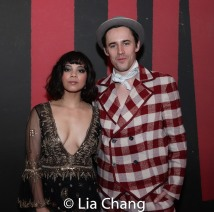 Eva Noblezada and Reeve Carney. Photo by Lia Chang