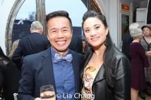 Steven Eng and Diane Phelan. Photo by Lia Chang