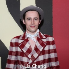 Reeve Carney. Photo by Lia Chang