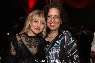 Anaïs Mitchell and Mara Isaacs. Photo by Lia Chang