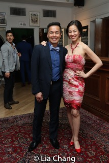 Steven Eng, Lia Chang. Photo by Garth Kravits