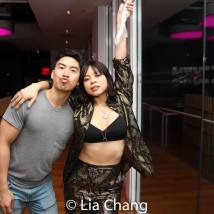 Devin Ilaw and Eva Noblezada. Photo by Lia Chang