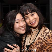 Viveca Chow and Eva Noblezada. Photo by Lia Chang