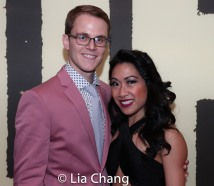 Michael Karns and Kay Trinidad. Photo by Lia Chang