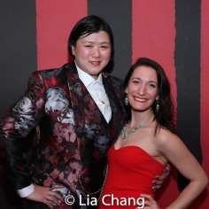 Cherie Tay and Aline Kovacs. Photo by Lia Chang