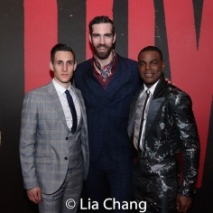 John Krause, Timothy Hughes and Ahmad Simmons. Photo by Lia Chang