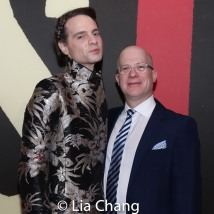 Jordan Roth and Ritchie Jackson. Photo by Lia Chang
