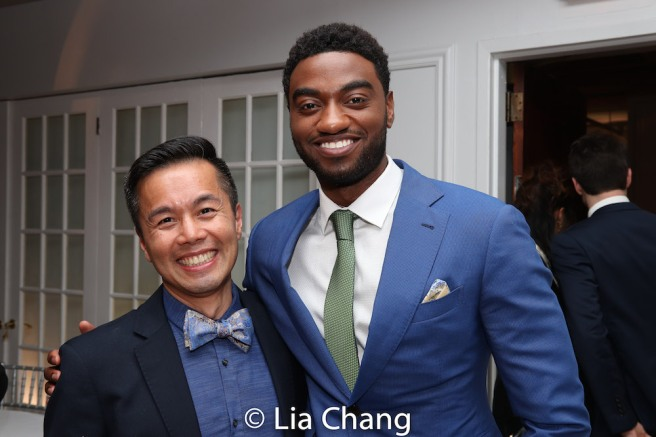 Steven Eng and Jelani Alladin. Photo by Lia Chang