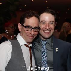 Garth Kravits and Joey Monda. Photo by Lia Chang