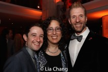 Joey Monda, Mara Isaacs and Lorenzo Thione. Photo by Lia Chang