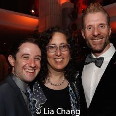 Joey Monda, Mara Isaacs and Lorenzo Thione. Photo by Lia Chang