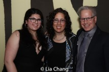 Renee Mellman, Mara Isaacs and Daniel B. Mellman. Photo by Lia Chang