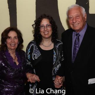 Marcia Garfield Isaacs, Mara Isaacs and Herb Isaacs. Photo by Lia Chang