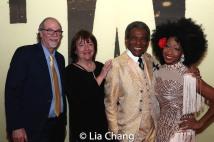 Ken Melamed, Margi Rountree, André De Shields. Photo by Lia Chang