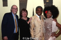 Ken Melamed, Margi Rountree, André De Shields. Photo by Lia Chang