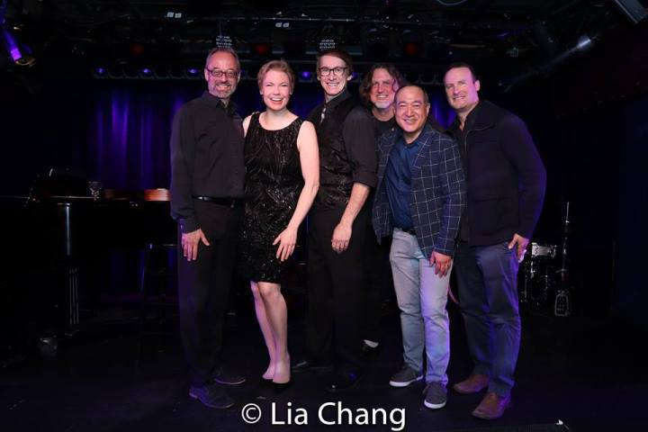Gary Adler, Jennifer Barnhart, Rick Lyon, Jim Donica, Alan Muraoka and Michael Croiter. Photo by Lia Chang