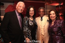 Herb Isaacs, Mara Isaacs, André De Shields and Marcia Garfield Isaacs. Photo by Lia Chang