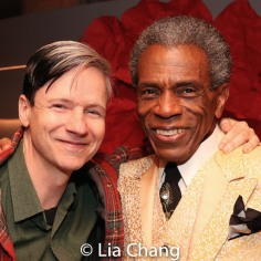 John Cameron Mitchell and André De Shields. Photo by Lia Chang