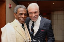 André De Shields and Patrick Page. Photo by Lia Chang