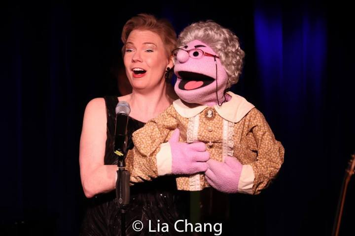 Jennifer Barnhart and Mrs. T. Roz. Photo by Lia Chang
